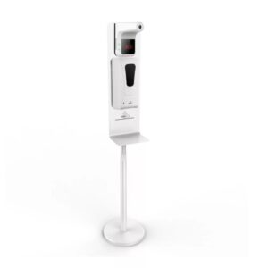 Automatic Hand Sanitizer Stand with Dispenser and Touchless Thermometer
